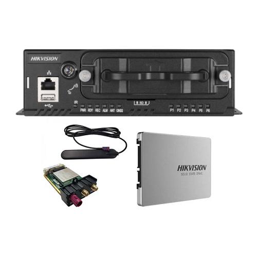 Hikvision NEI-MVR5604 4-Kanal Mobile Network Video Kayıt Cihazı